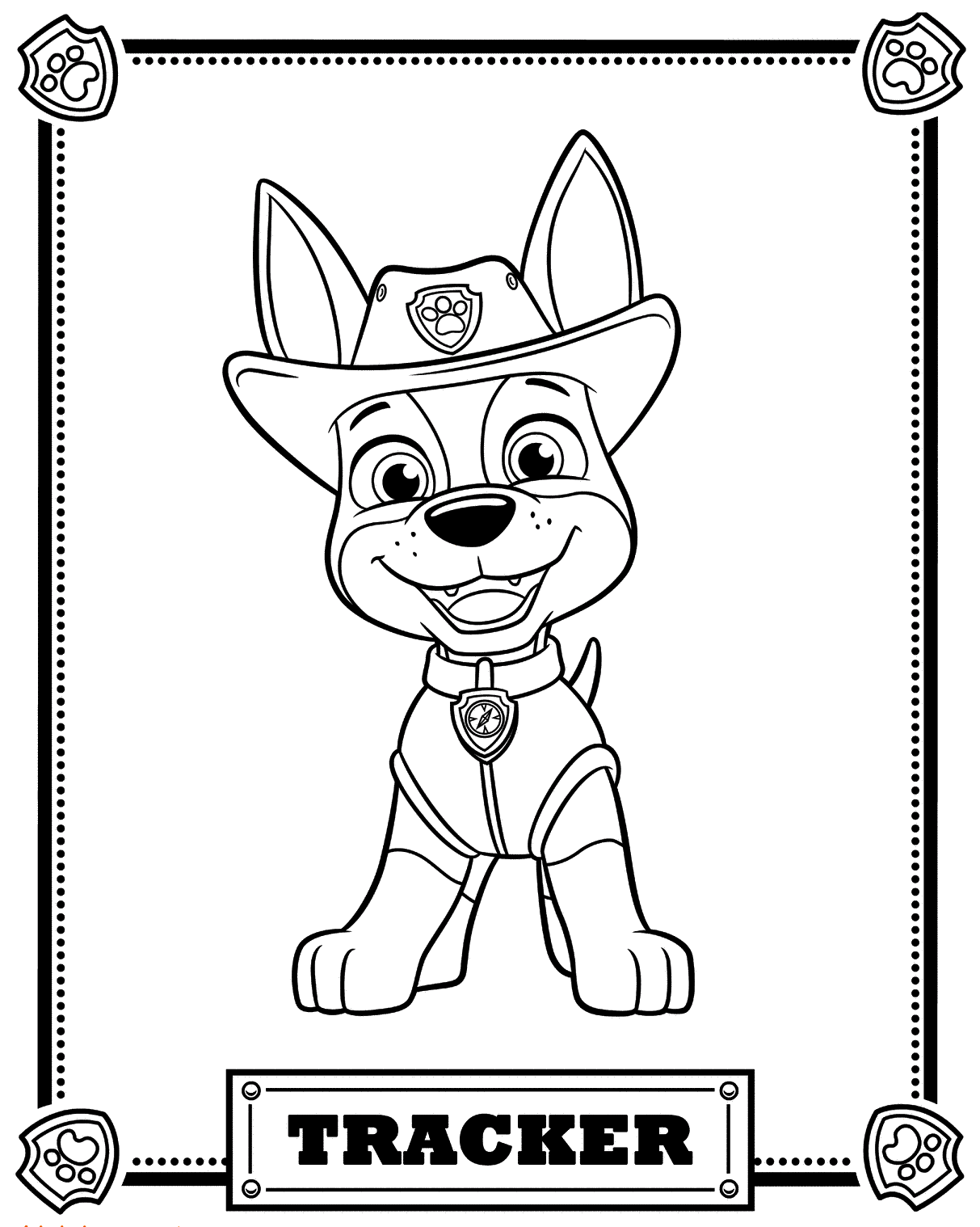 paw patrol coloring pages chase paw patrol coloring pages to download and print for free coloring patrol paw pages