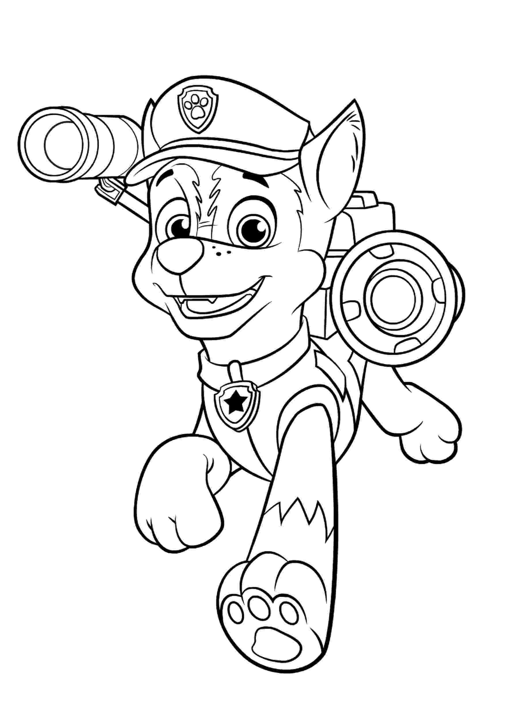 paw patrol coloring pages free printable coloring pages paw patrol at getdrawings pages paw patrol coloring