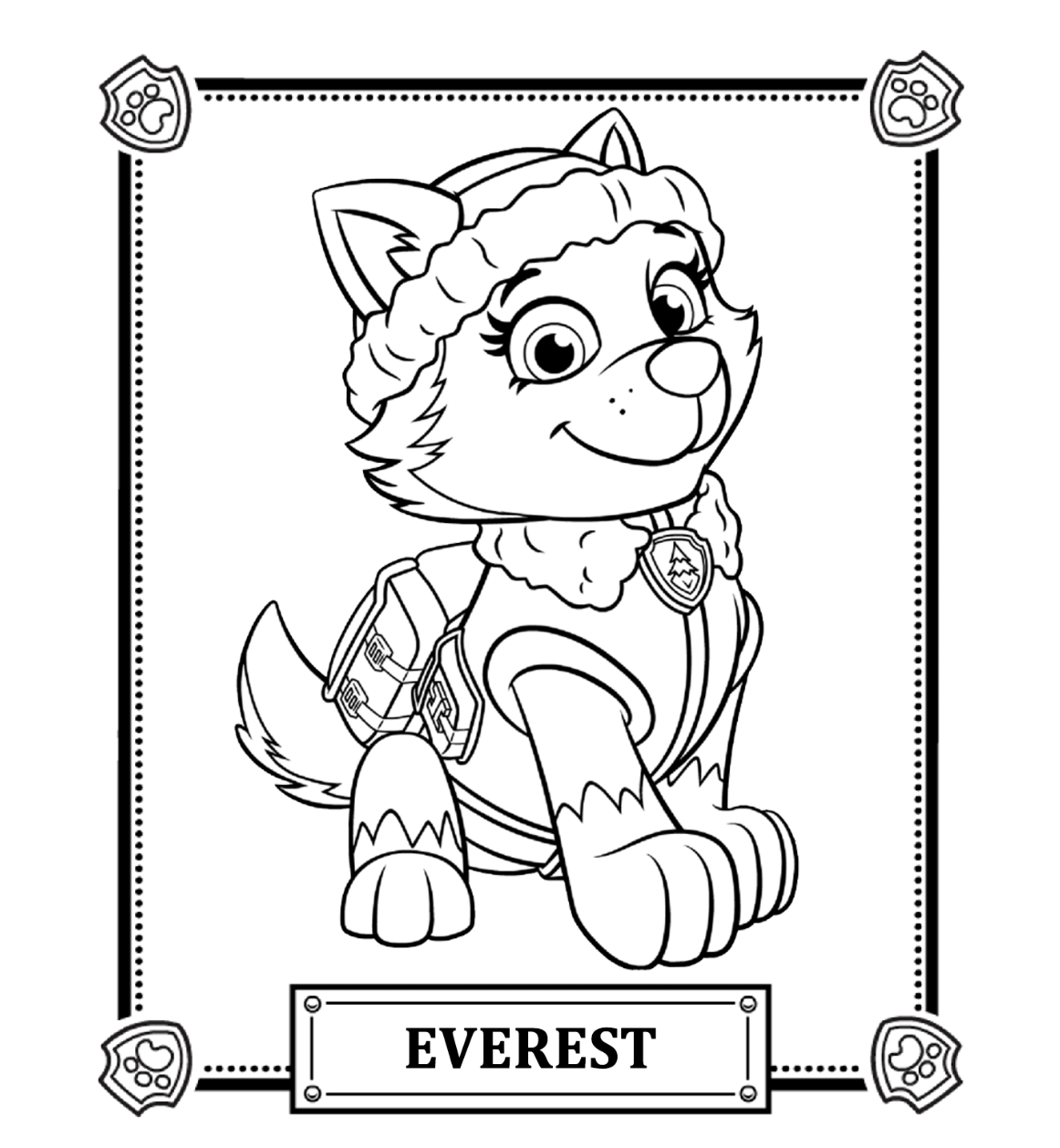 paw patrol coloring pages paw patrol coloring pages free download on clipartmag coloring paw patrol pages
