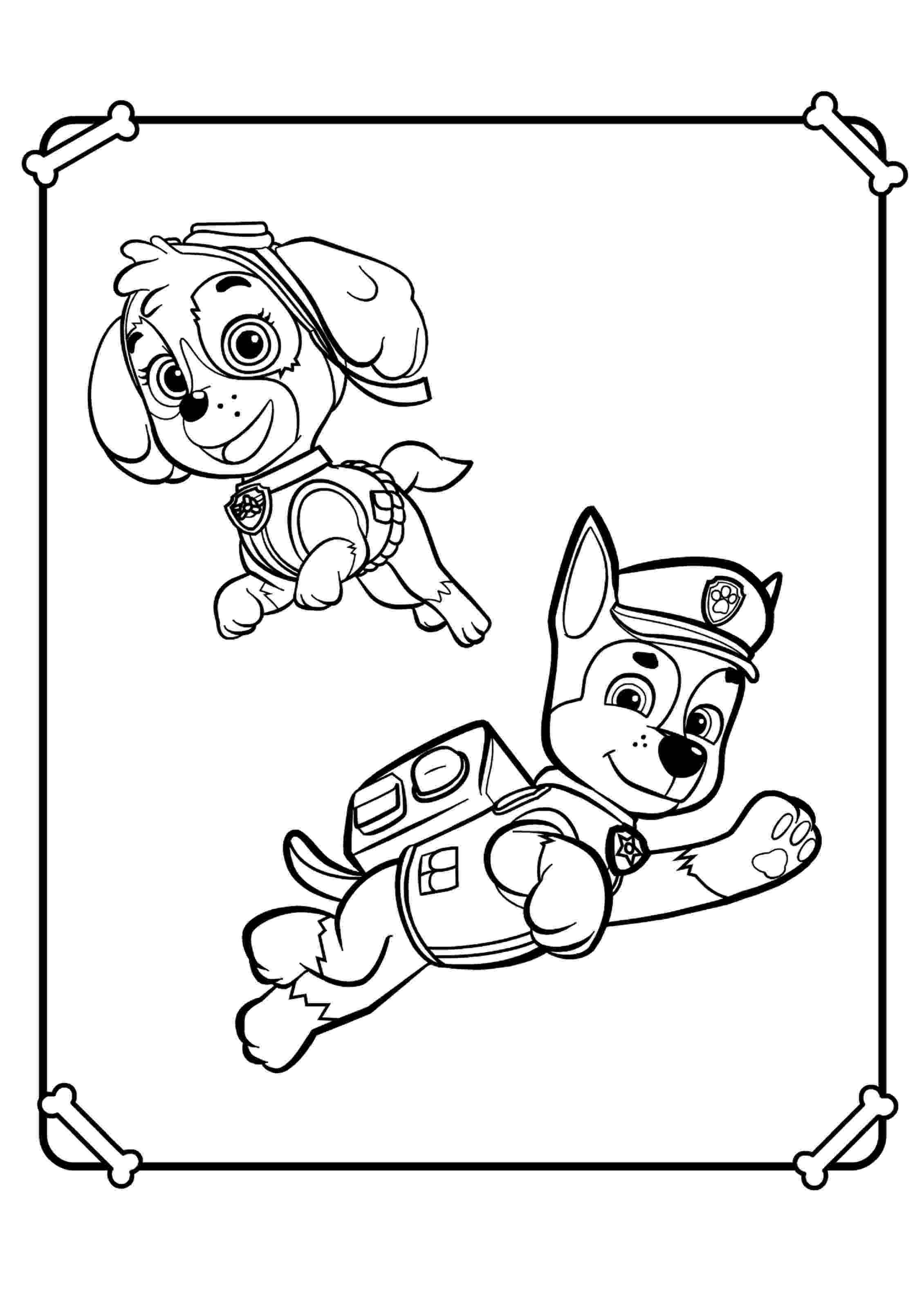 paw patrol coloring pages paw patrol coloring pages printable 25 print color craft paw coloring patrol pages