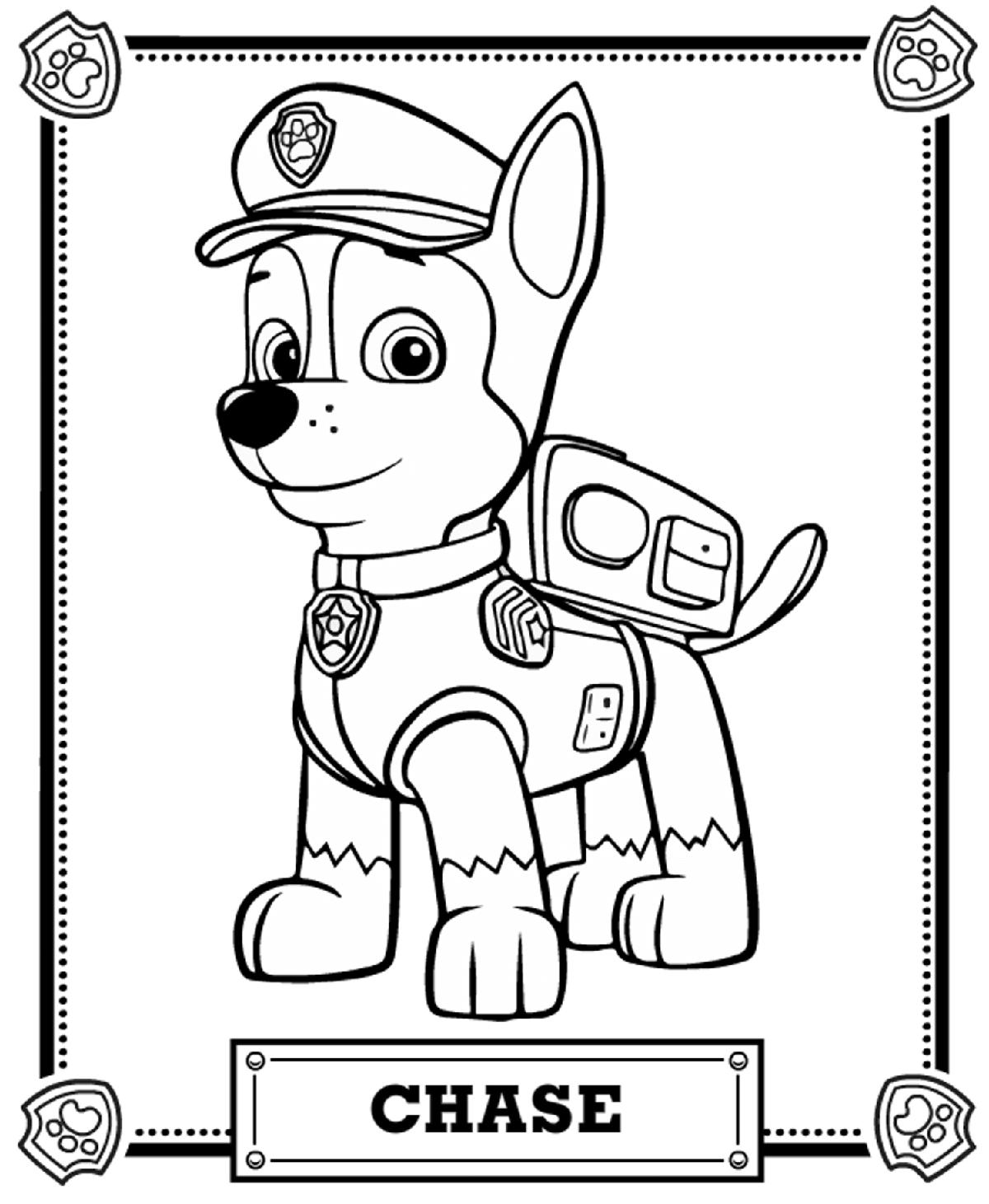 paw patrol coloring pages paw patrol free colouring pages patrol coloring paw pages
