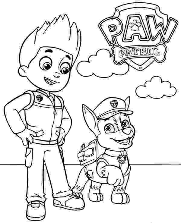 paw patrol ryder coloring page paw patrol badges coloring pages getcoloringpagescom page patrol ryder paw coloring