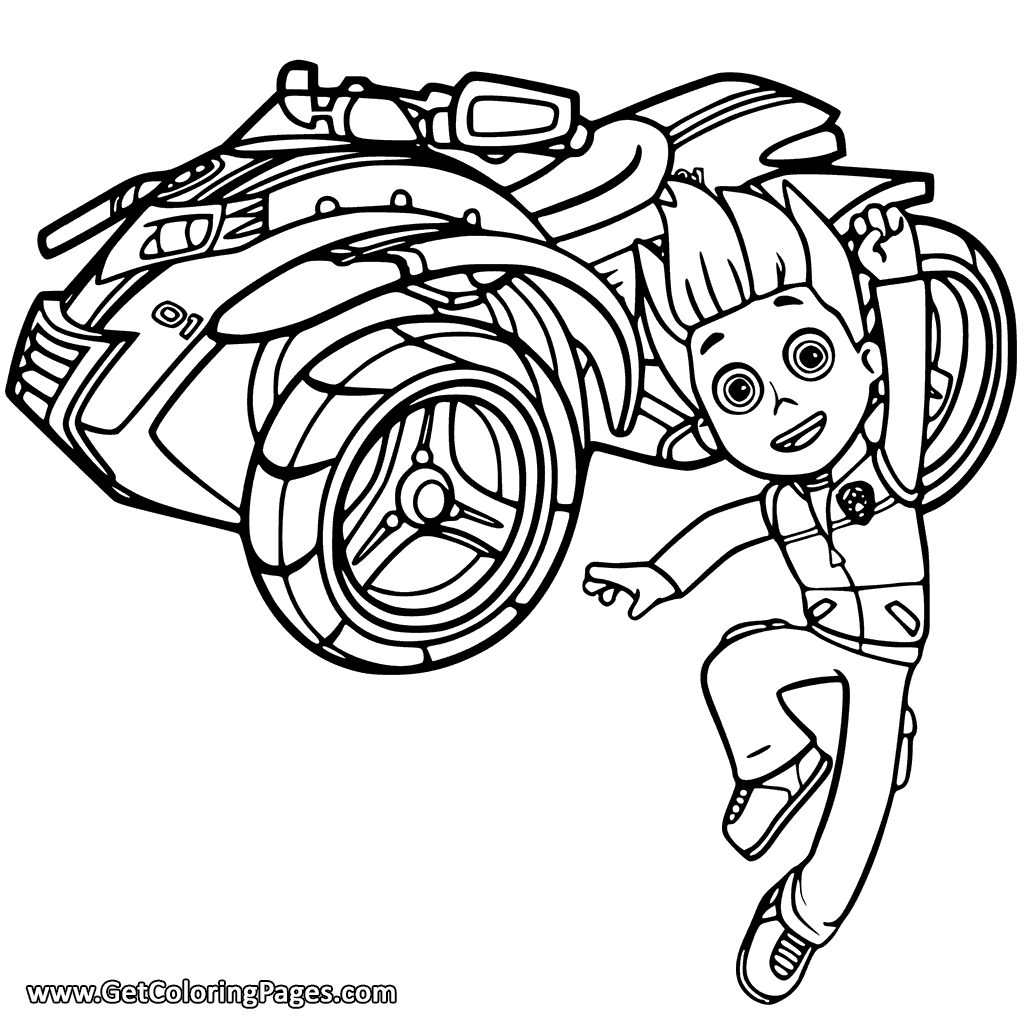 paw patrol ryder coloring page paw patrol coloring pages free download on clipartmag page paw coloring ryder patrol
