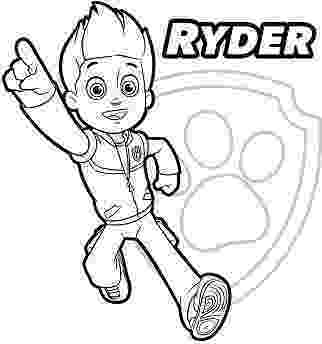 paw patrol ryder coloring page paw patrol coloring pages to print getcoloringpagescom ryder paw coloring page patrol