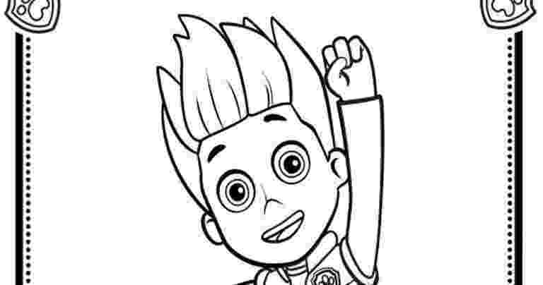 paw patrol ryder coloring page paw patrol holiday christmas ryder coloring pages printable paw page coloring ryder patrol