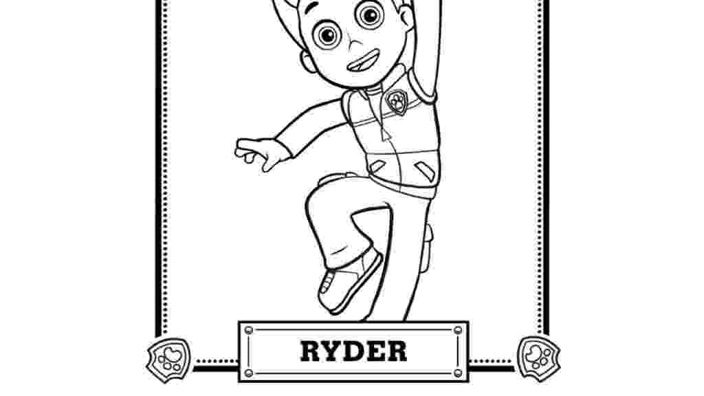 paw patrol ryder coloring page paw patrol ryder coloring page free printable coloring pages page ryder coloring paw patrol
