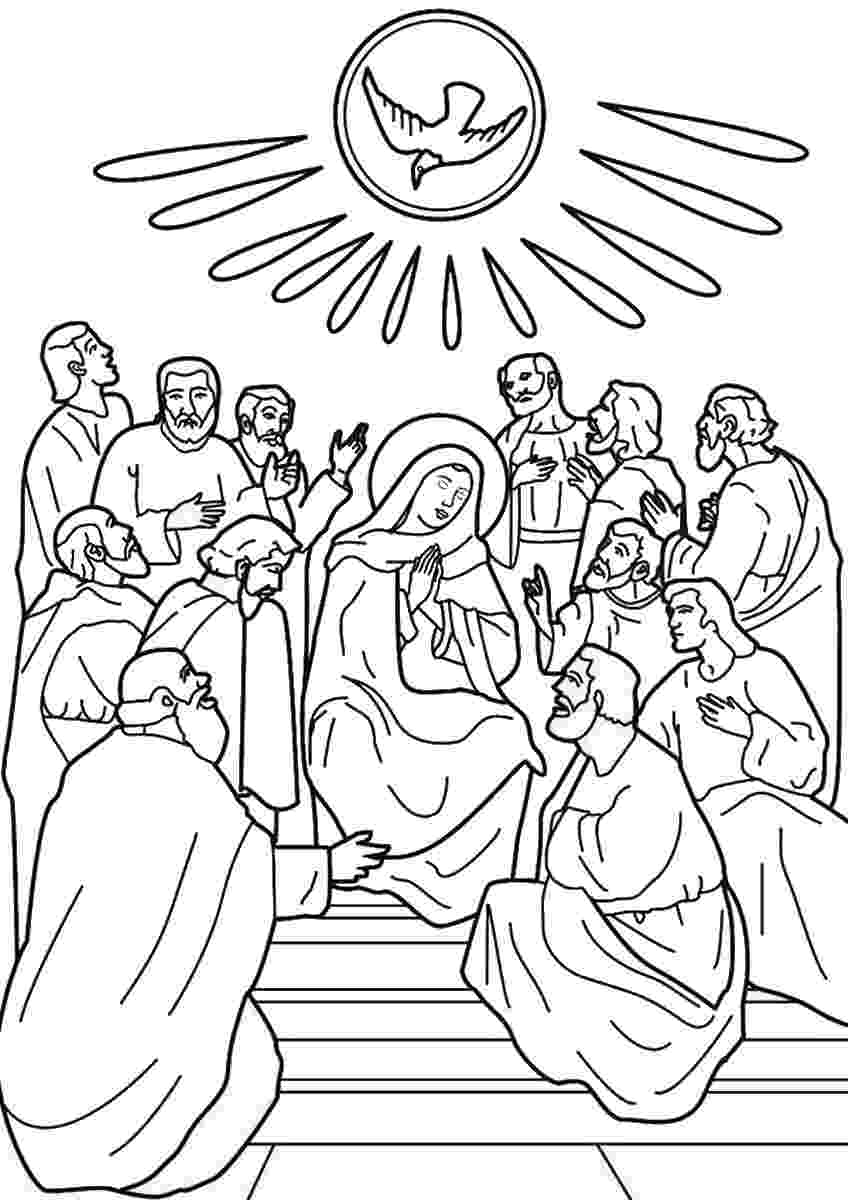 pentecost coloring page the day of pentecost coloring page pentecost page coloring