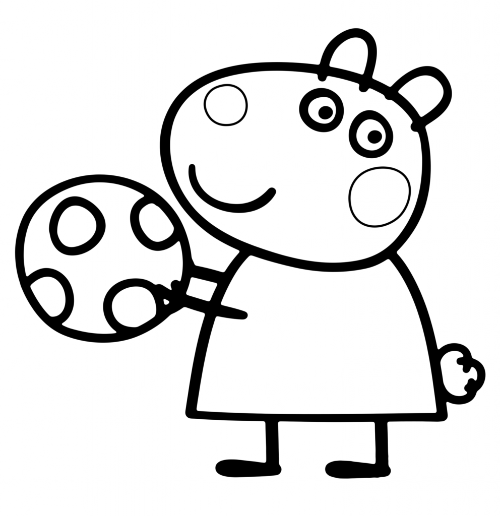 peppa pig coloring page peppa pig coloring pages free printable coloring home page coloring pig peppa