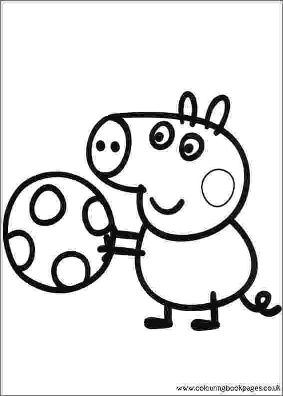 peppa pig coloring page peppa pig george pig free printable coloring page coloring peppa pig page
