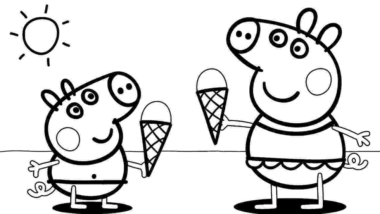 peppa pig coloring page top 35 free printable peppa pig coloring pages online page peppa coloring pig