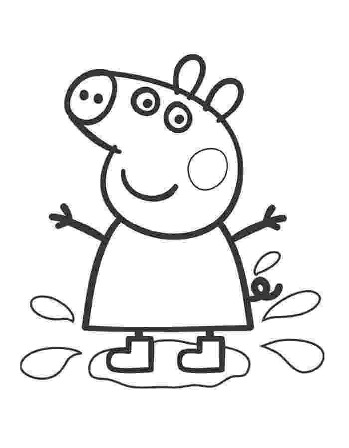 peppa pig colouring pages online peppa pig coloring pages to print for free and color colouring online pig pages peppa