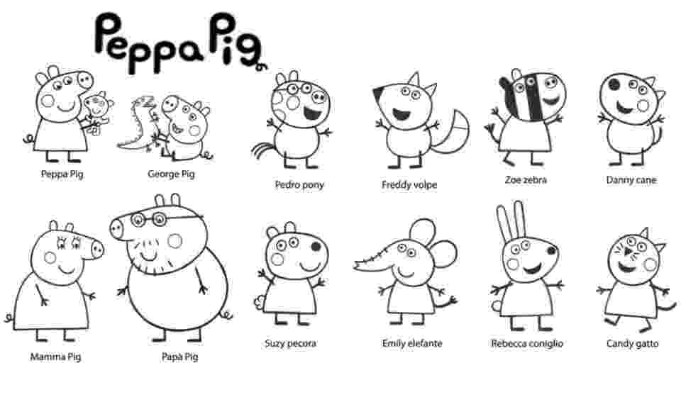 peppa pig colouring pages online peppa pig coloring pages with peppa pig coloring page online pig pages peppa colouring