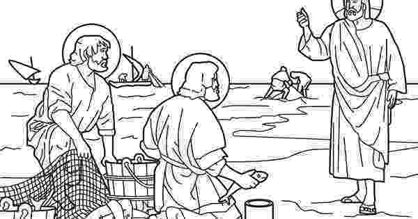 peter and andrew meet jesus coloring page 255 best bible class acts images on pinterest sunday peter page coloring meet jesus and andrew