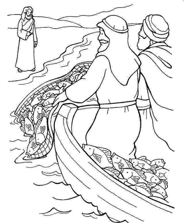 peter and andrew meet jesus coloring page pages jesus and peter andrew meet coloring pages page jesus and andrew peter meet coloring