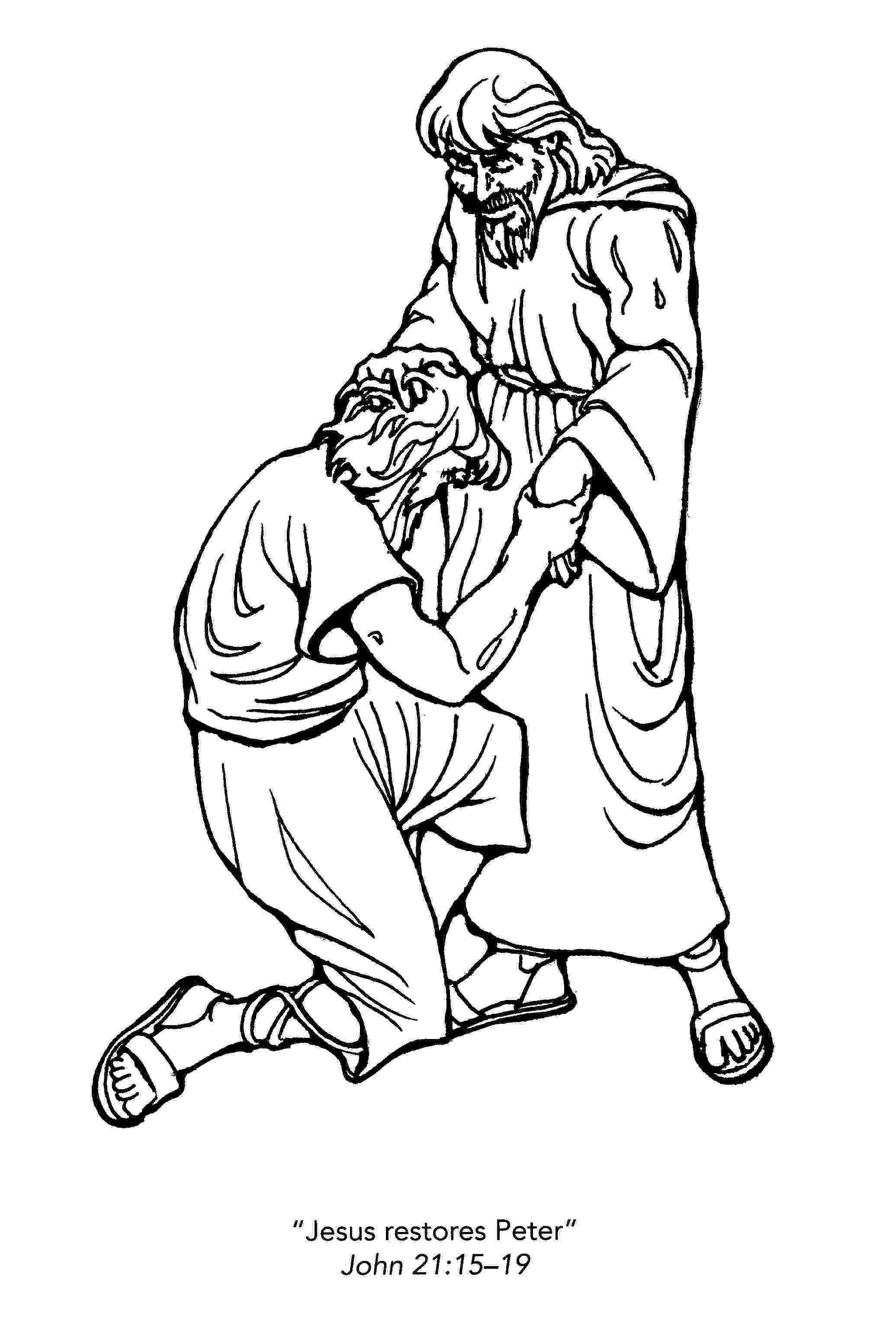 peter and andrew meet jesus coloring page peter and andrew meet jesus coloring page andrew jesus peter coloring page meet and