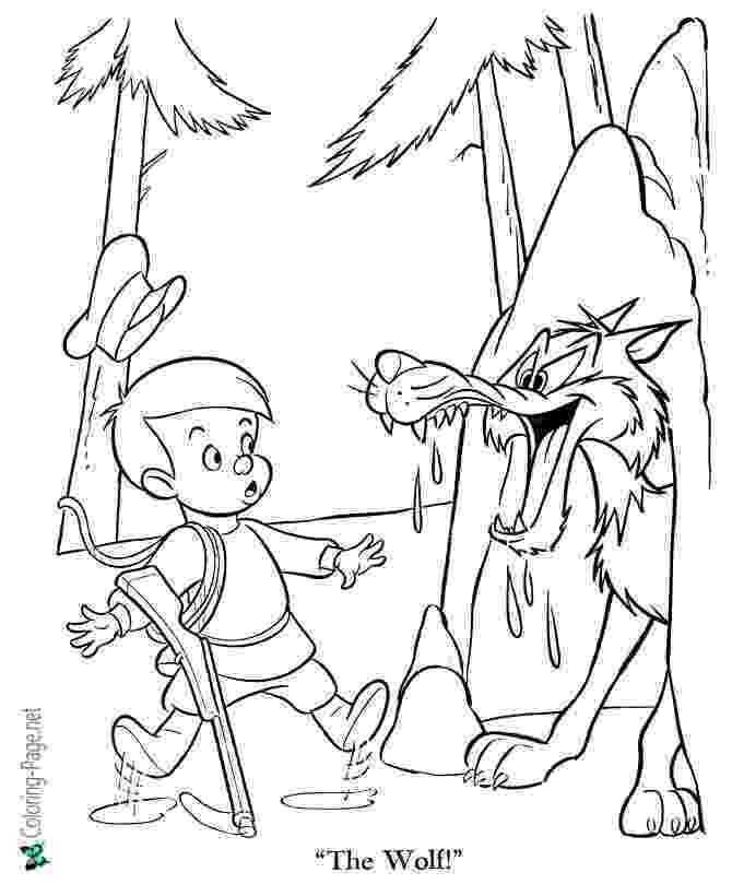 peter and the wolf coloring pages elegant peter and the wolf coloring pages 4 elementary pages peter the coloring wolf and