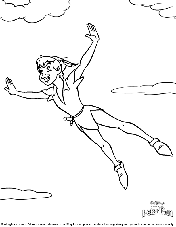 peter pan coloring pages free 28 best images about coloring pages 14 peter pan on pages coloring pan peter free