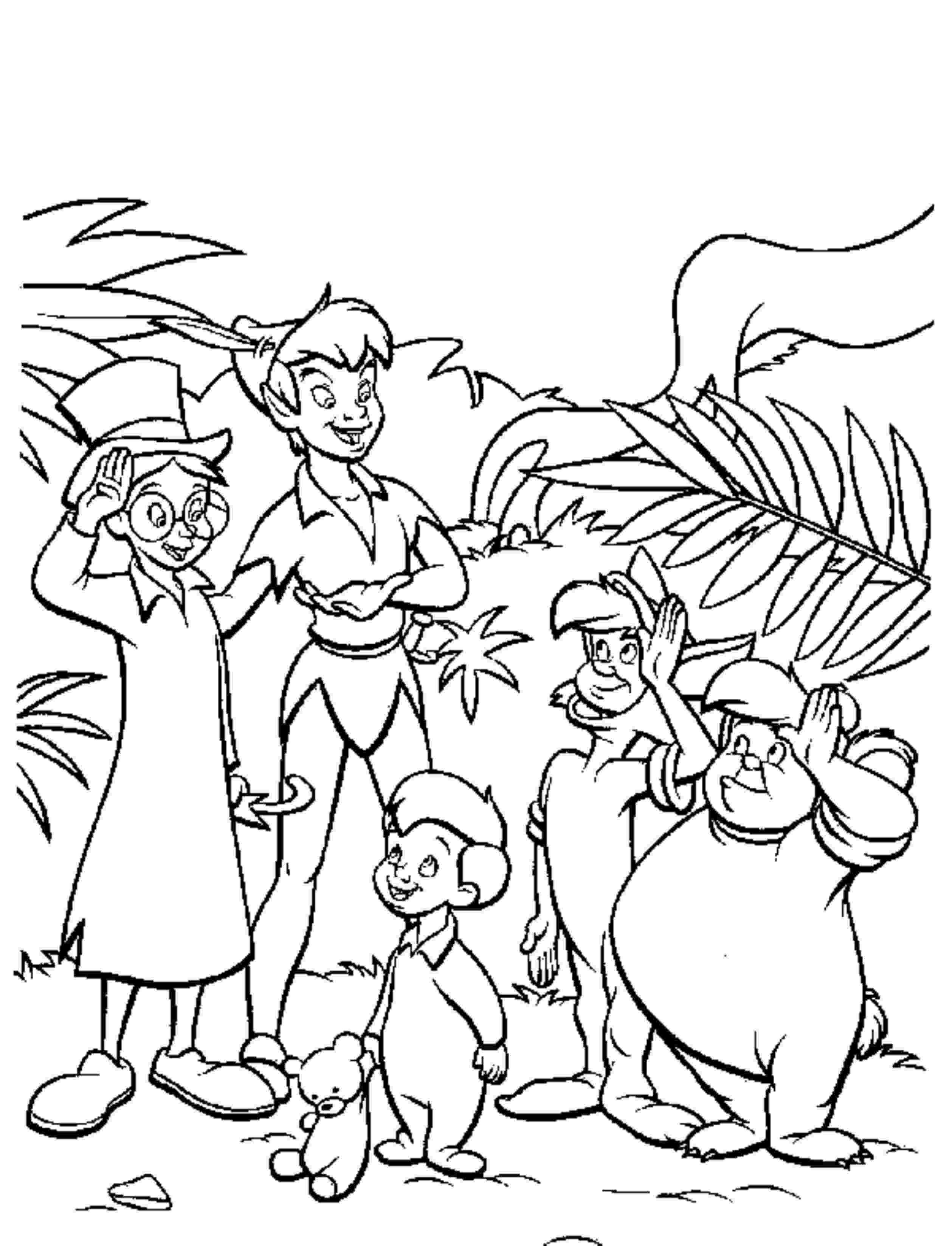 peter pan coloring pages free free printable peter pan coloring pages for kids pages free peter pan coloring