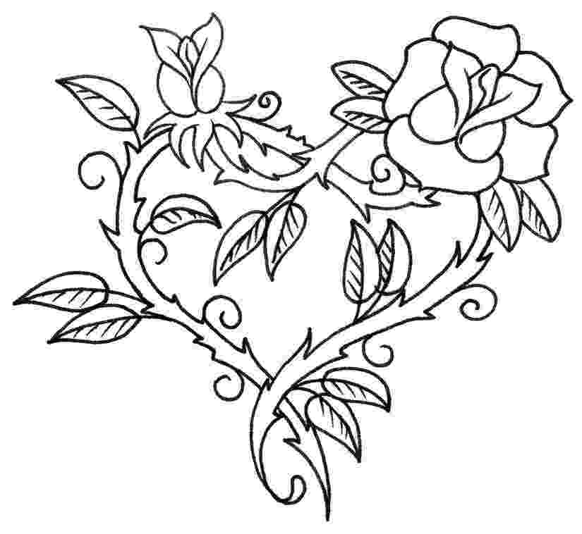 pics of roses to color coloring ville to pics color roses of