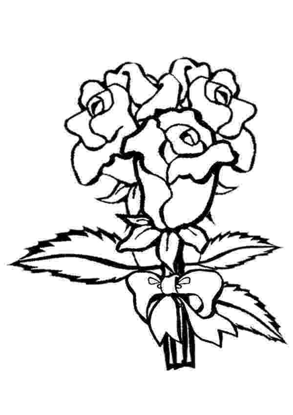 pics of roses to color free printable flower coloring pages for kids best pics to of color roses