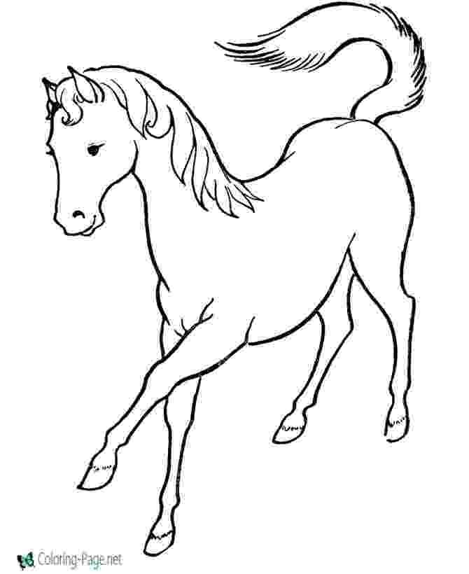 picture of a horse to color american saddlebred mare horse coloring page free horse a to color picture of