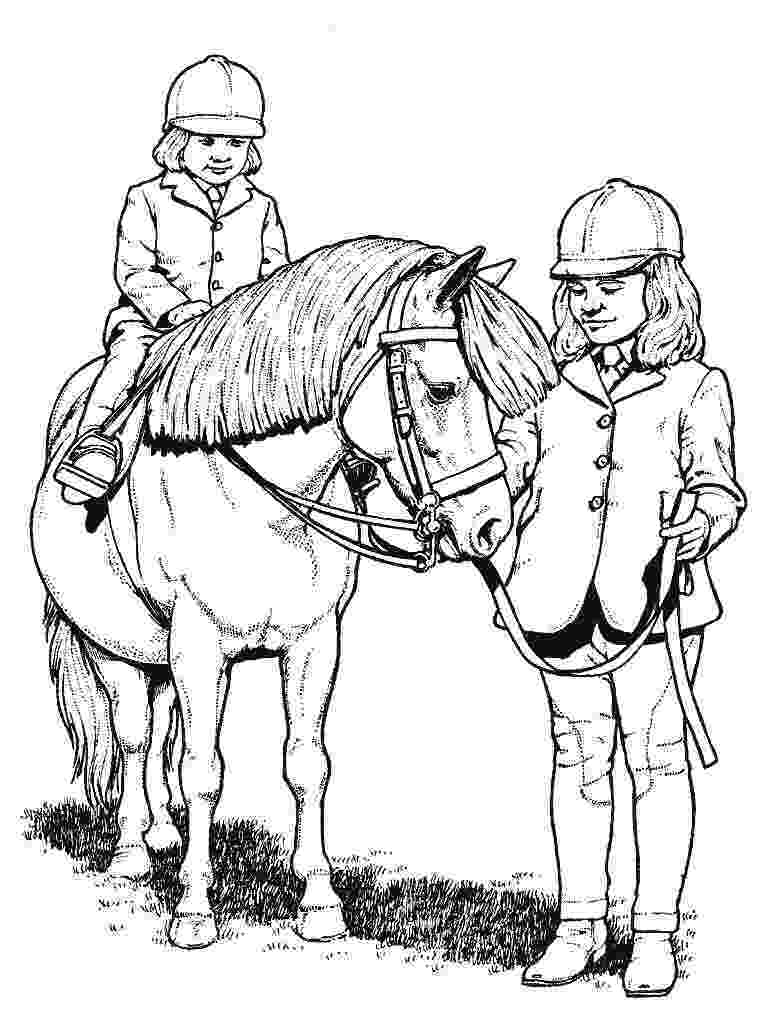 picture of a horse to color coloring town horse to a color of picture