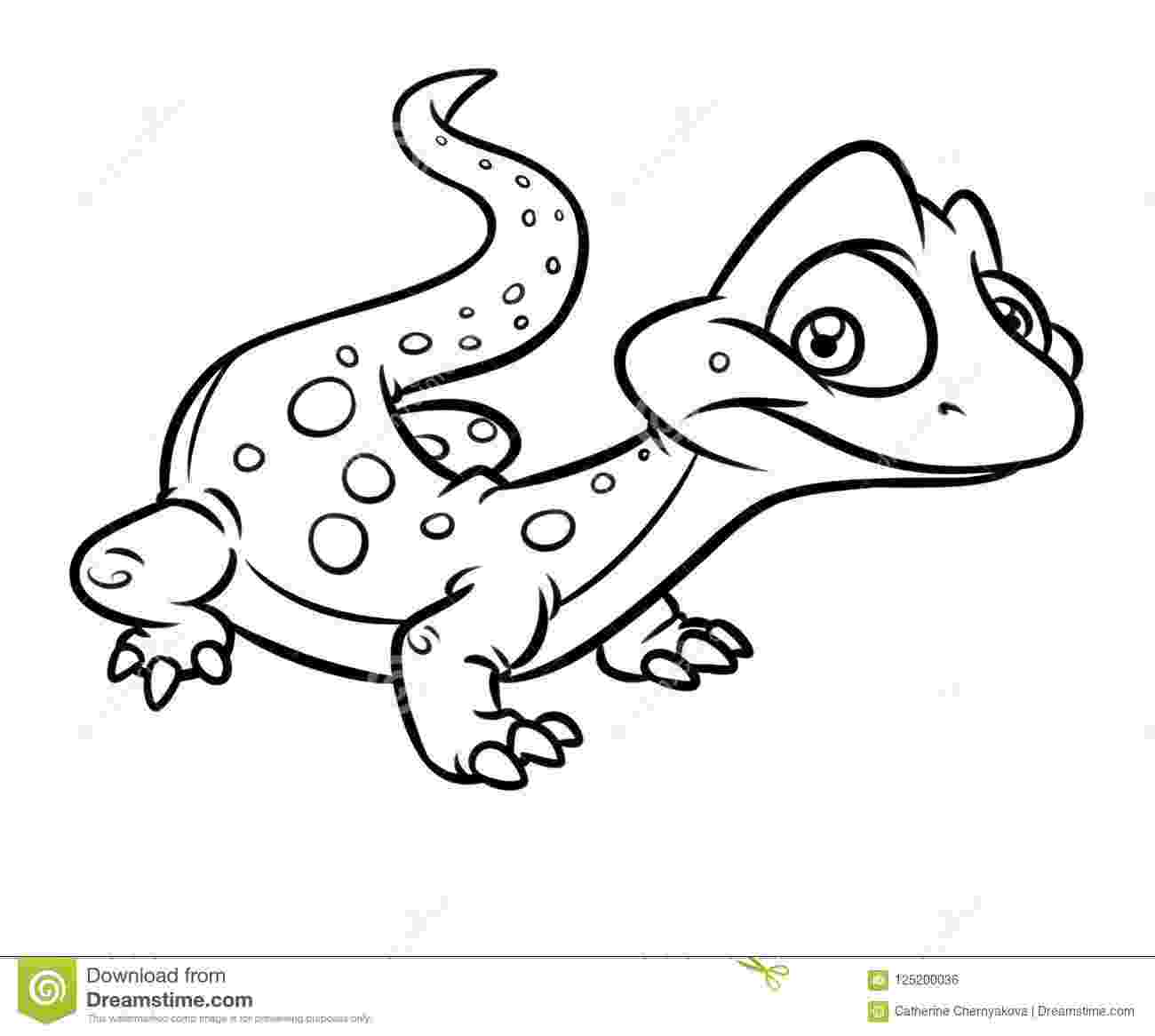 picture of a lizard to color carolina anole lizard coloring pages download print lizard color of picture a to