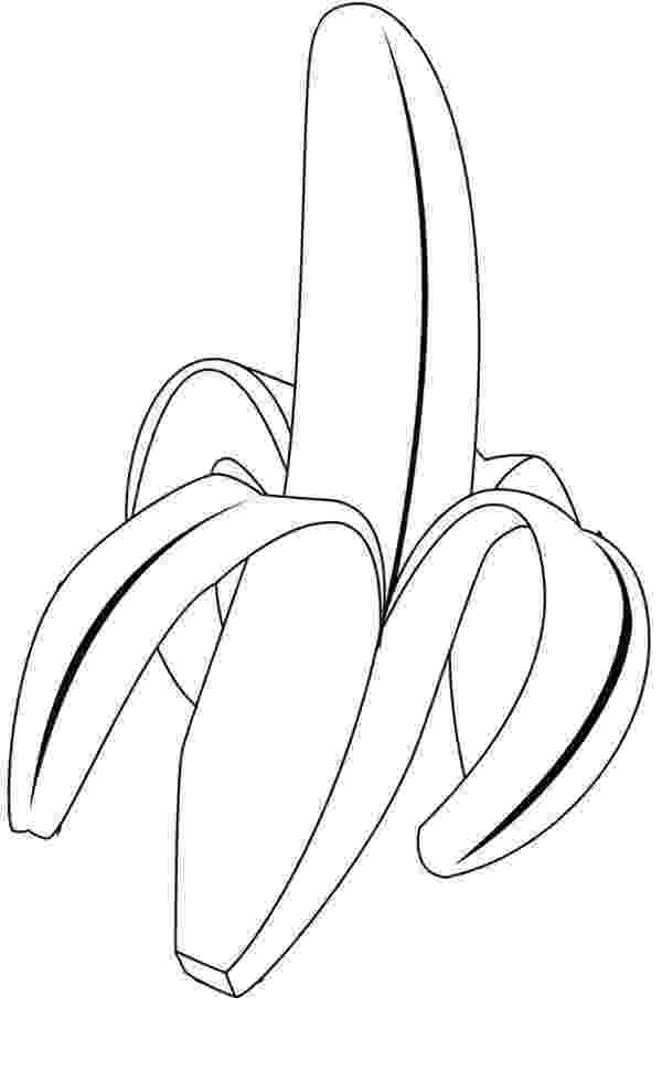 picture of banana for colouring banana coloring pages to download and print for free banana colouring for of picture