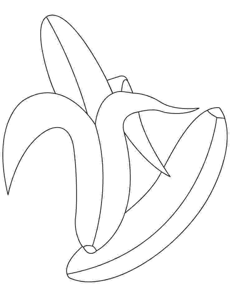 picture of banana for colouring bananas coloring pages learn to coloring picture for colouring of banana