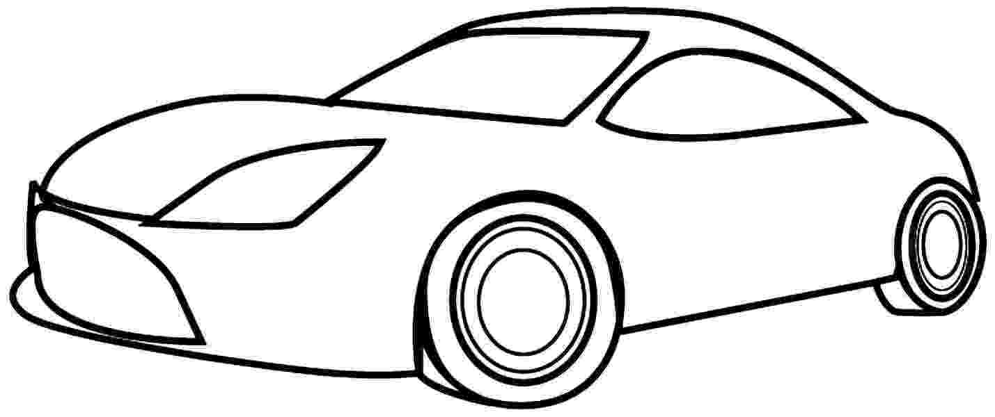 picture of car for colouring simple coloring pages to download and print for free picture car for of colouring