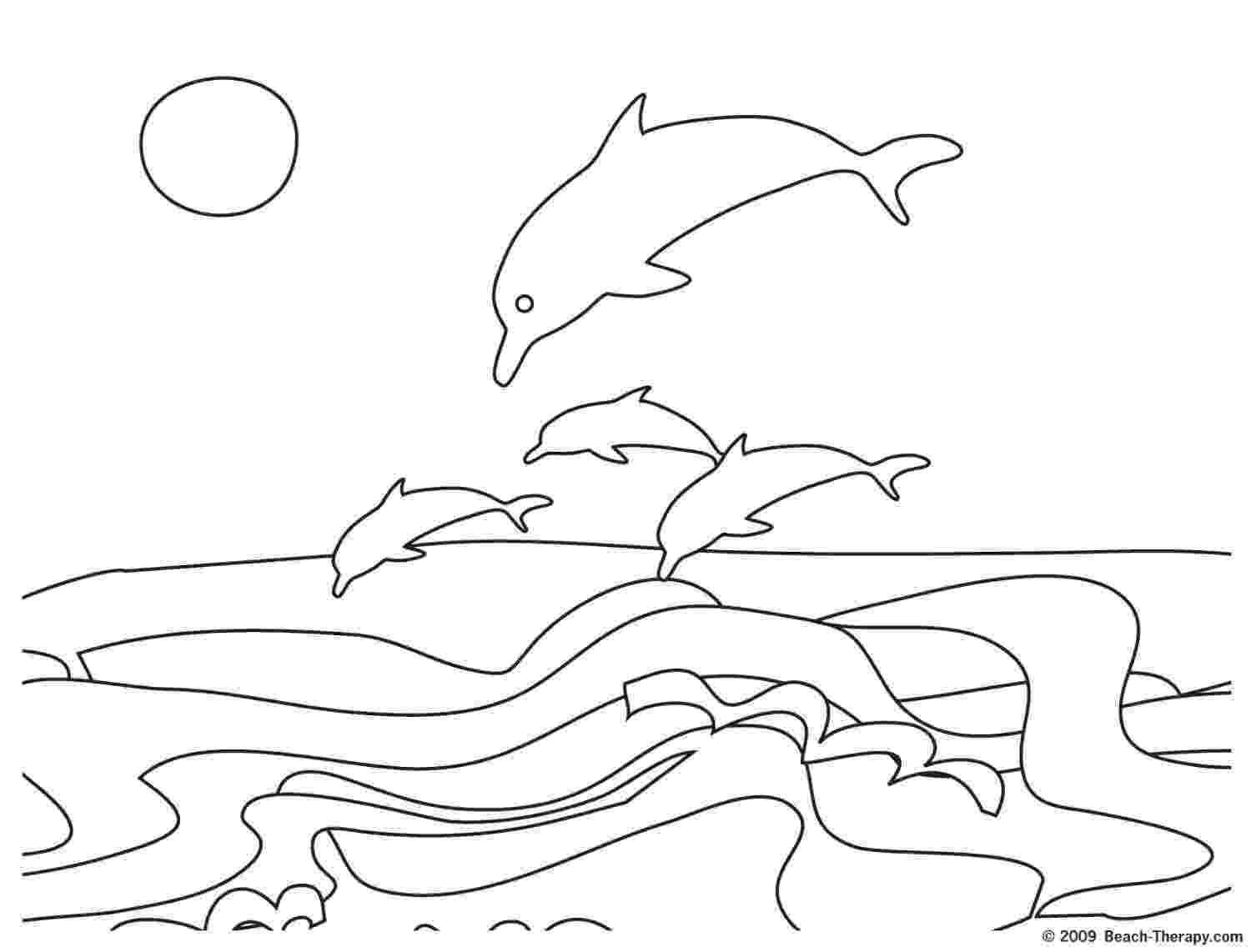 picture of dolphins to color hello kitty rides a dolphin coloring page free printable color picture to dolphins of
