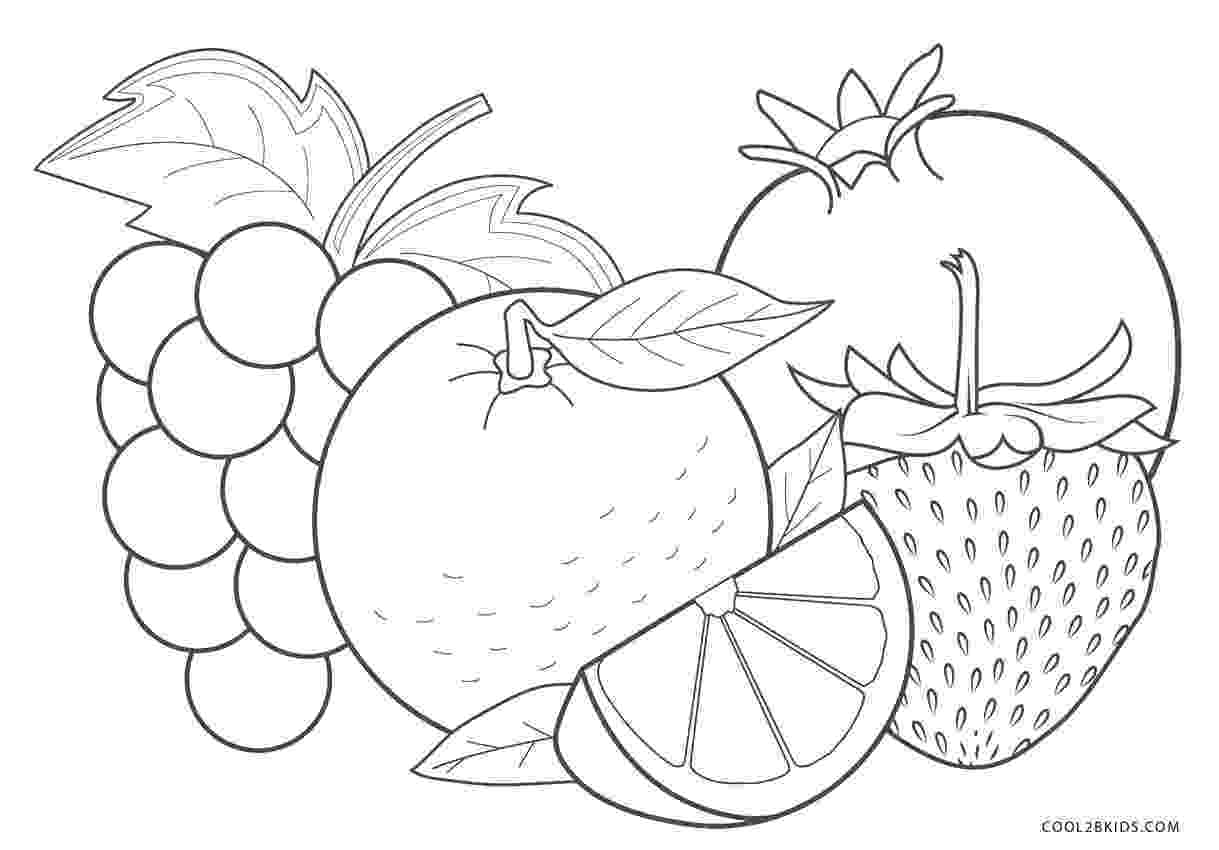 picture of fruits for colouring free printable fruit coloring pages for kids cool2bkids picture fruits colouring for of