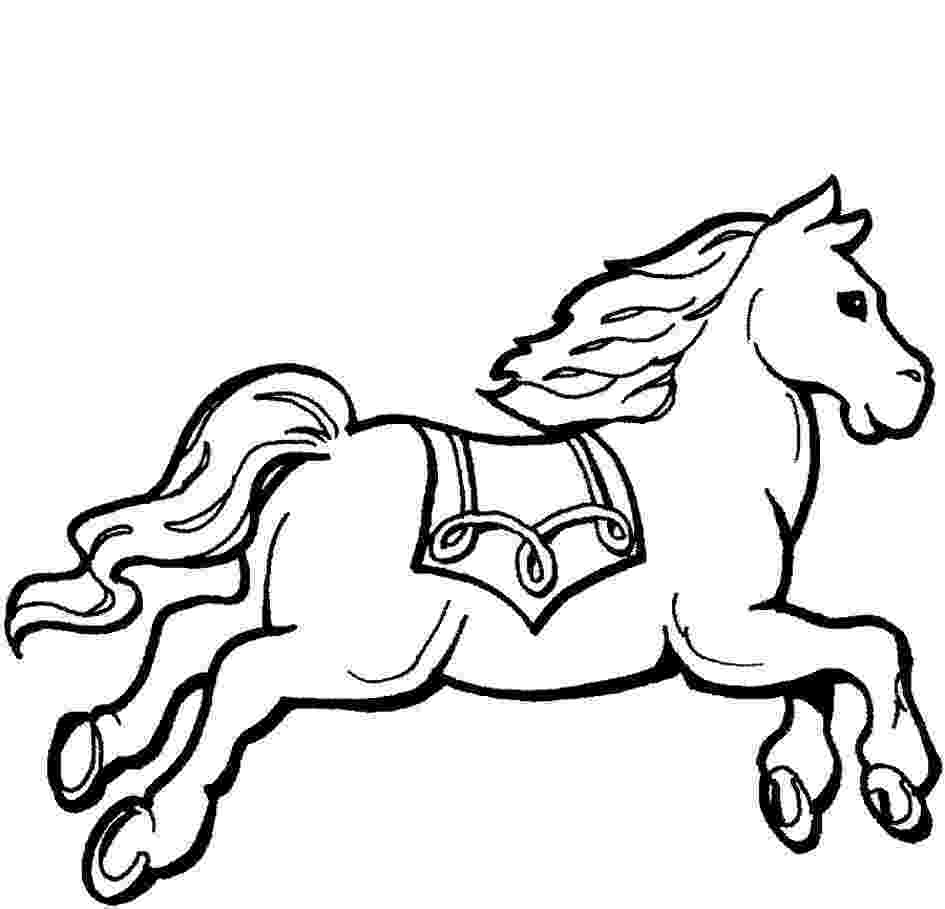 picture of horse to color free horse coloring pages to of horse picture color
