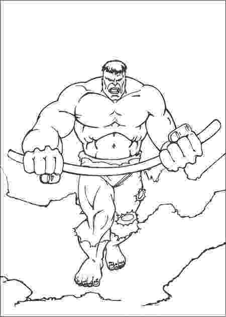 picture of hulk free printable hulk coloring pages for kids picture of hulk
