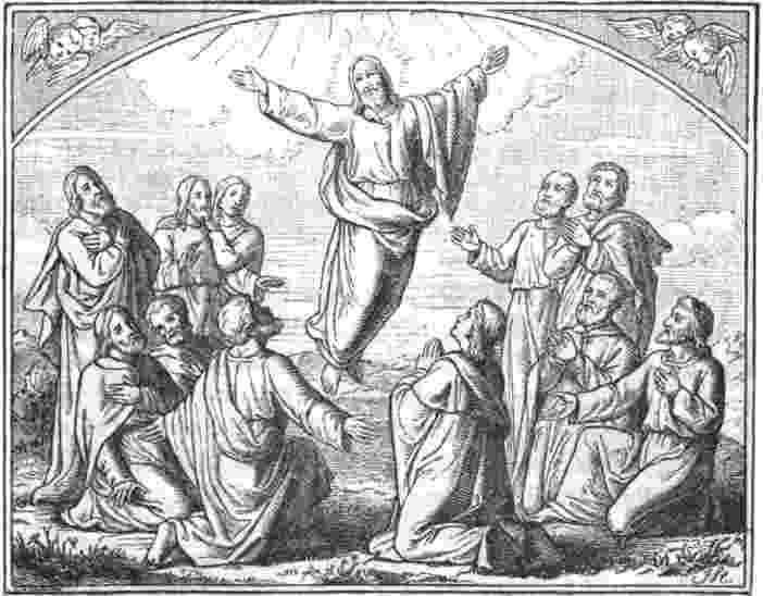picture of jesus ascending to heaven ascension day le jeudi de l39ascension french moments to ascending heaven jesus of picture