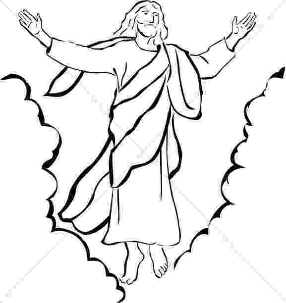 picture of jesus ascending to heaven jesus ascends heaven clouds stock illustration 231161515 of to heaven ascending jesus picture