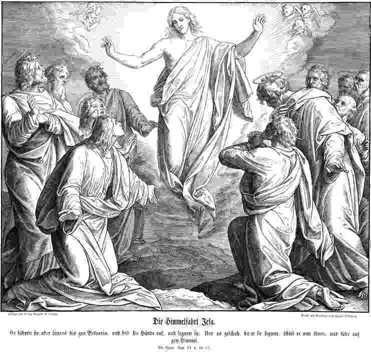 picture of jesus ascending to heaven jesus39 ascension into heaven coloring pages google jesus picture of heaven to ascending