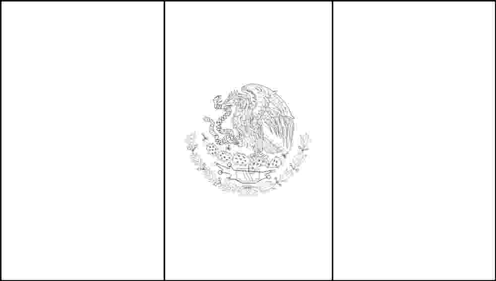 picture of mexican flag to color mexican flag coloring page sketch coloring page mexican of color to flag picture