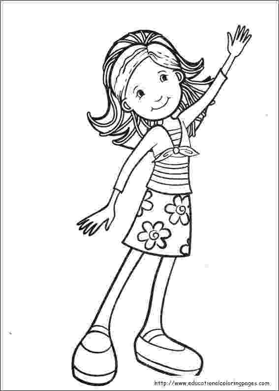 pictures for girls to colour groovy girls coloring pages free for kids to girls pictures for colour