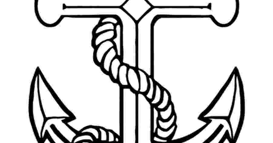 pictures of anchors to color anchor coloring pages getcoloringpagescom of pictures to anchors color