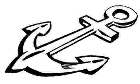 pictures of anchors to color anchor coloring pages getcoloringpagescom pictures anchors to color of