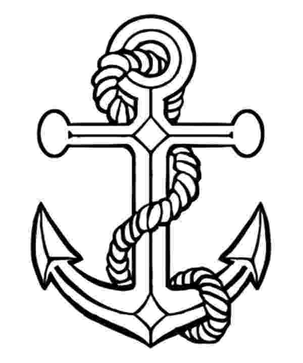 pictures of anchors to color navy anchor coloring pages coloring pages anchor clip color of to anchors pictures