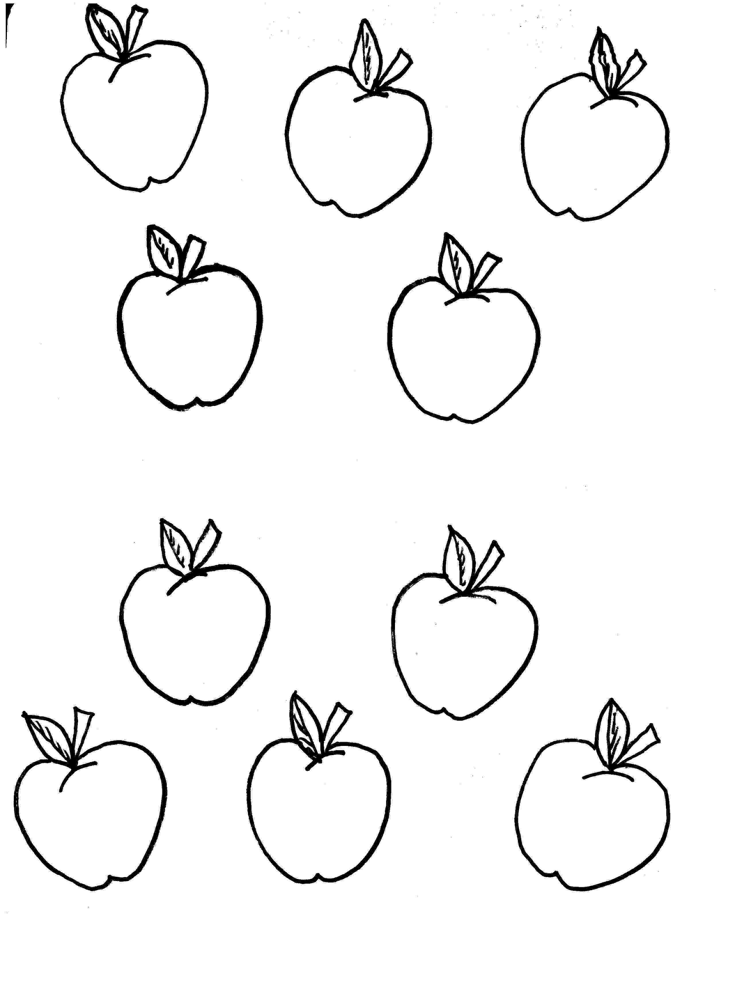 pictures of apples for kids free printable apple coloring pages for kids apple for of pictures apples kids