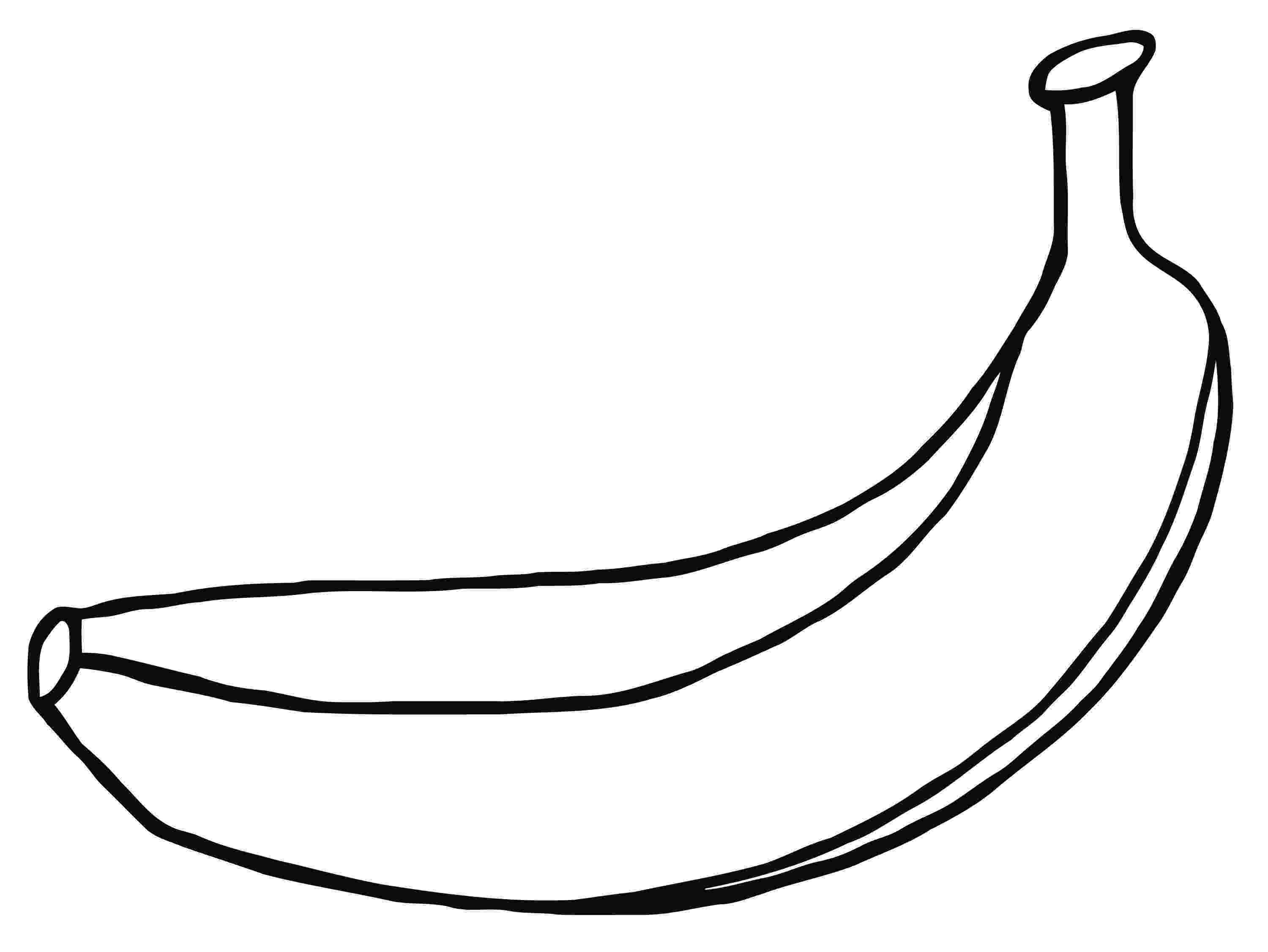 pictures of bananas to print banana clipart black and white free clipart images print pictures to of bananas