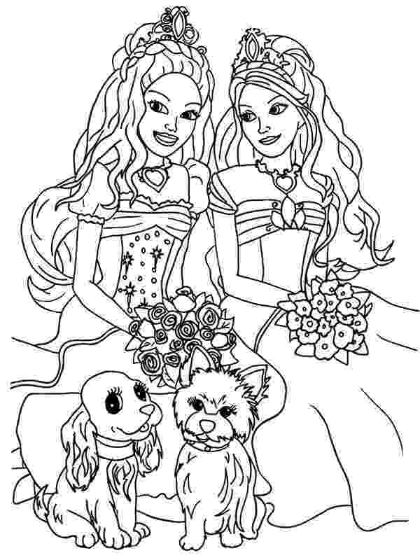 pictures of barbie for colouring barbie coloring pages coloring pages to print colouring for barbie of pictures