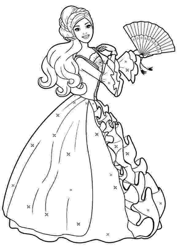 pictures of barbie for colouring printable barbie mermaid coloring pages for kids bratz of pictures for colouring barbie