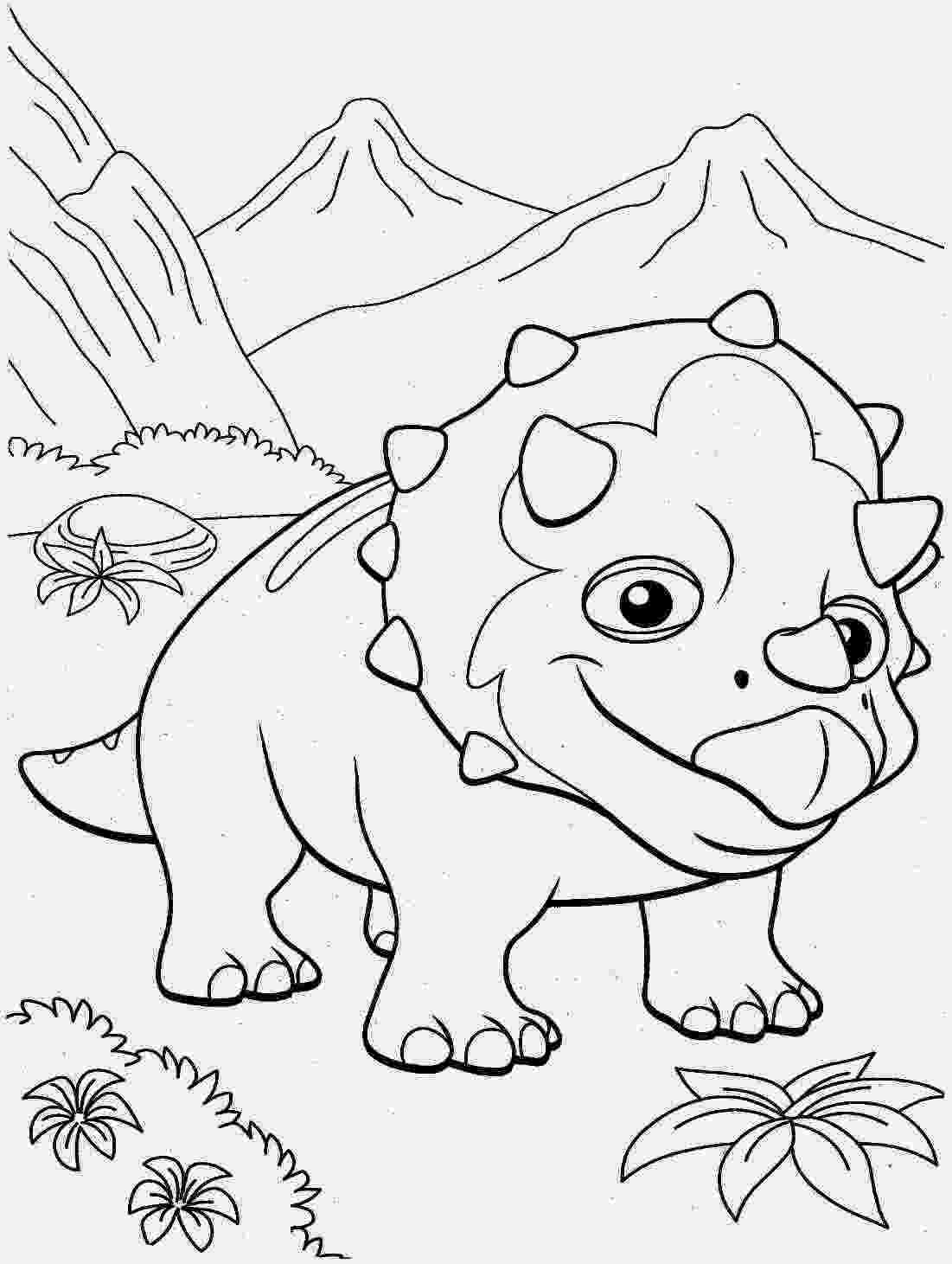 pictures of dinosaurs to print free printable triceratops coloring pages for kids to pictures of print dinosaurs
