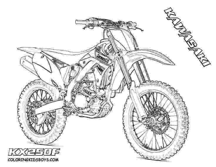 pictures of dirt bikes to color hard rider dirtbike print outs pocket bikes free bikes dirt to color pictures of