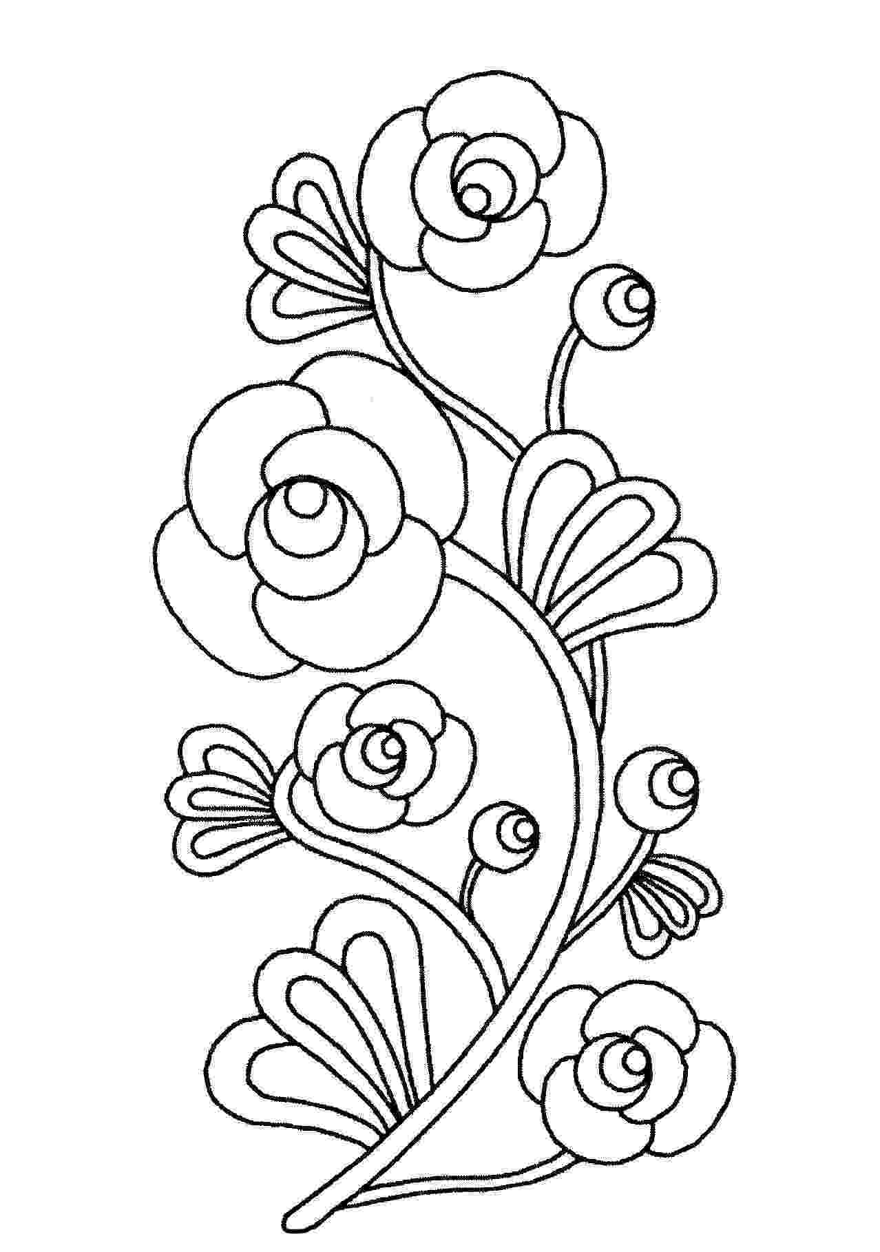 pictures of flowers to print and color soccer wallpaper flower coloring pages color of flowers to and pictures print