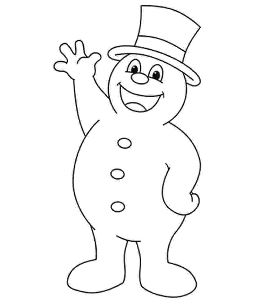 pictures of frosty the snowman snowman wink 000 snowman coloring pages coloring of pictures the frosty snowman